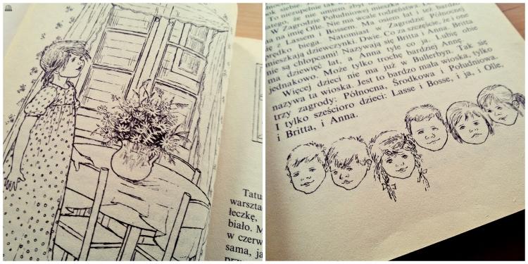 Kinder von Bullerbü Illustration