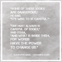 Clockwork Angel Quote