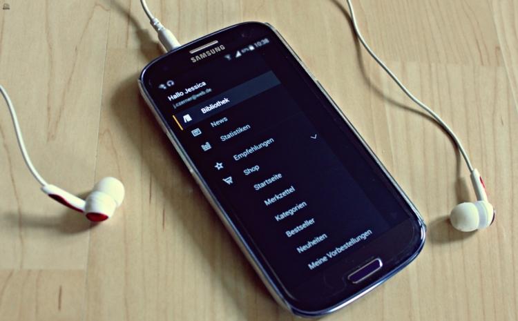 audible App Menü primeballerina
