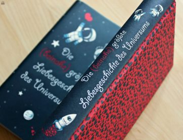 """Rezension zu """"Die (beinahe) größte Liebesgeschichte des Universums"""" von Sarvenaz Tash, Magellan, 2016 (primeballerina's books)"""
