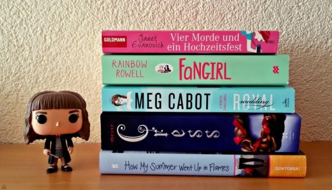 Bücher für den Fictional Bookish Girl Squad Book Tag