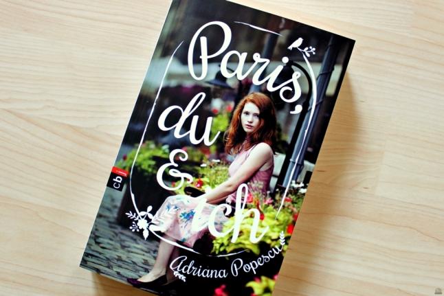"""Rezension zu """"Paris, du und ich"""" von Adriana Popescu, cbj, 2016 (primeballerina's books)"""