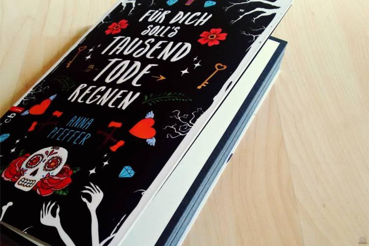 """Rezension zu """"Für dich soll's tausend Tode regnen"""" von Anna Pfeffer, 2016 cbj (primeballerina's books)"""