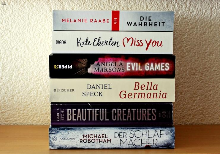 Neue Bücher #Sonntagstanz 42 (primeballerina's books)