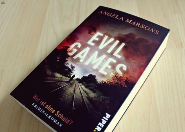 "Rezension zu ""Evil Games: Wer ist ohne Schuld?"" von Angela Marsons, DI Kim Stone #2 (primeballerina's books)"