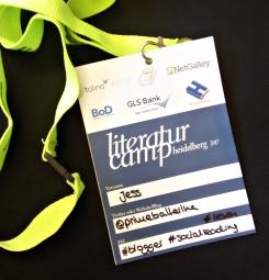 Teilnahmekarte Litcamp17