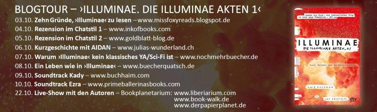 Blogtour Stationen Illuminae