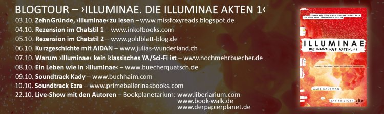 Blogtour Stationen Illuminae